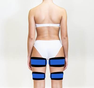 X-Tone - électrostimulation - jambe arrière
